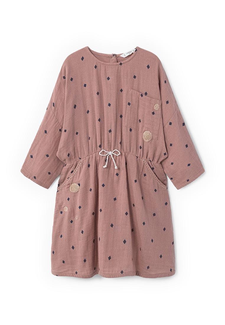 Повседневное платье Mango Kids (Манго Кидс) 13043690