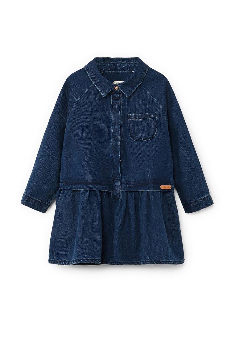 Повседневное платье Mango Kids (Манго Кидс) 13010608