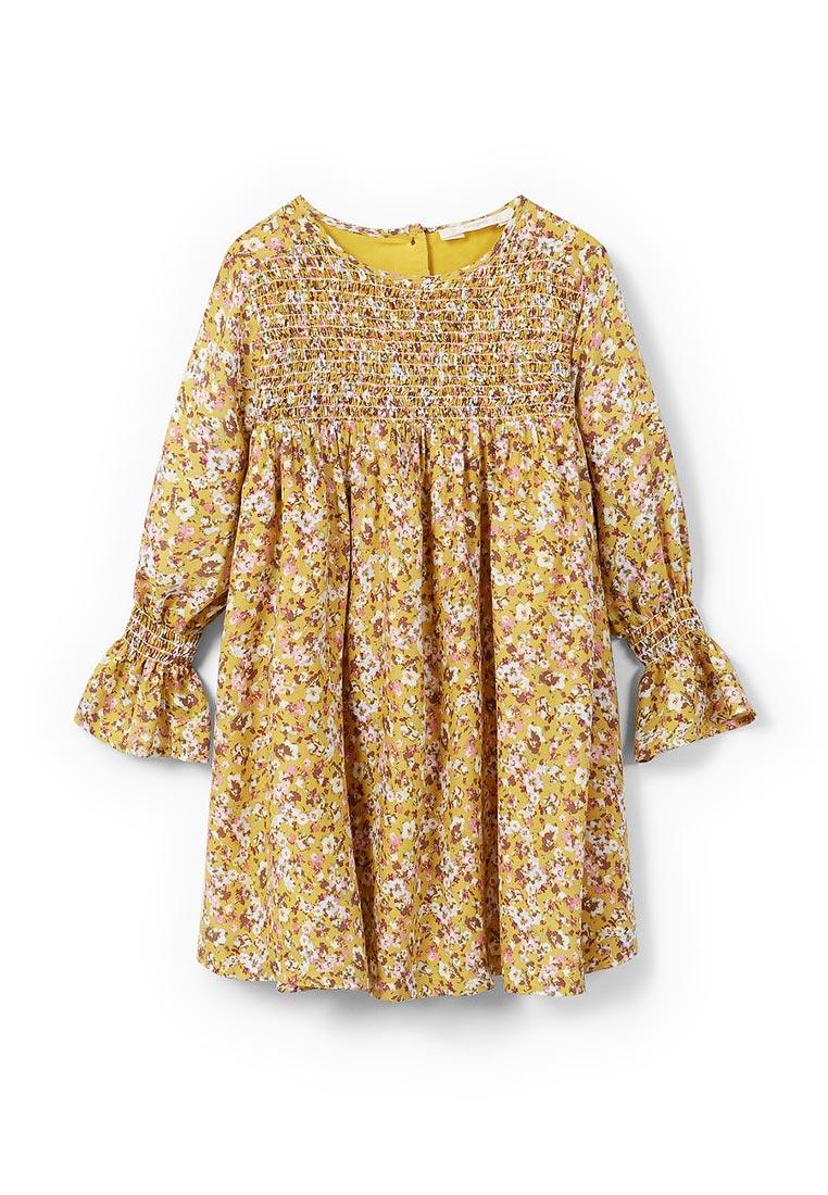 Повседневное платье Mango Kids (Манго Кидс) 13027674