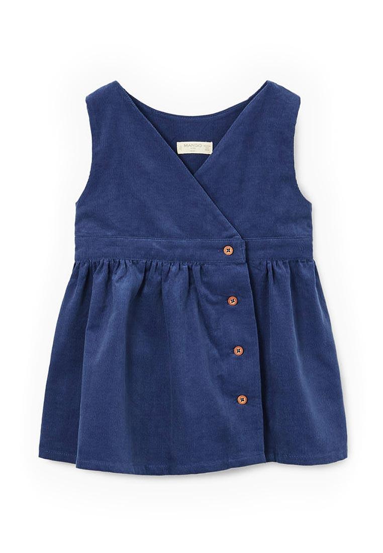 Повседневное платье Mango Kids (Манго Кидс) 13037647