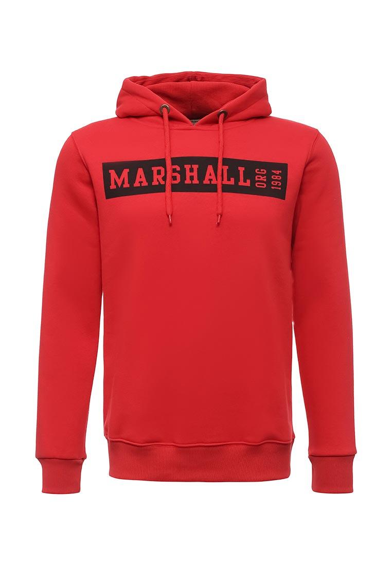 Мужские худи Marshall Original HS_BOX_ROUGE