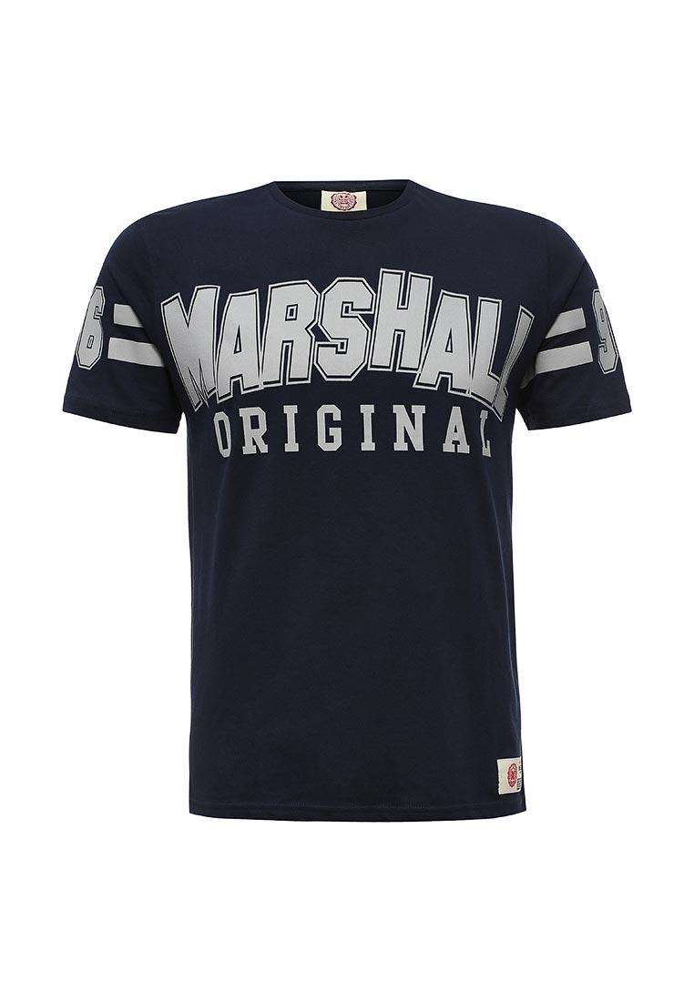Футболка с коротким рукавом Marshall Original TS_SIXERS_MARINE
