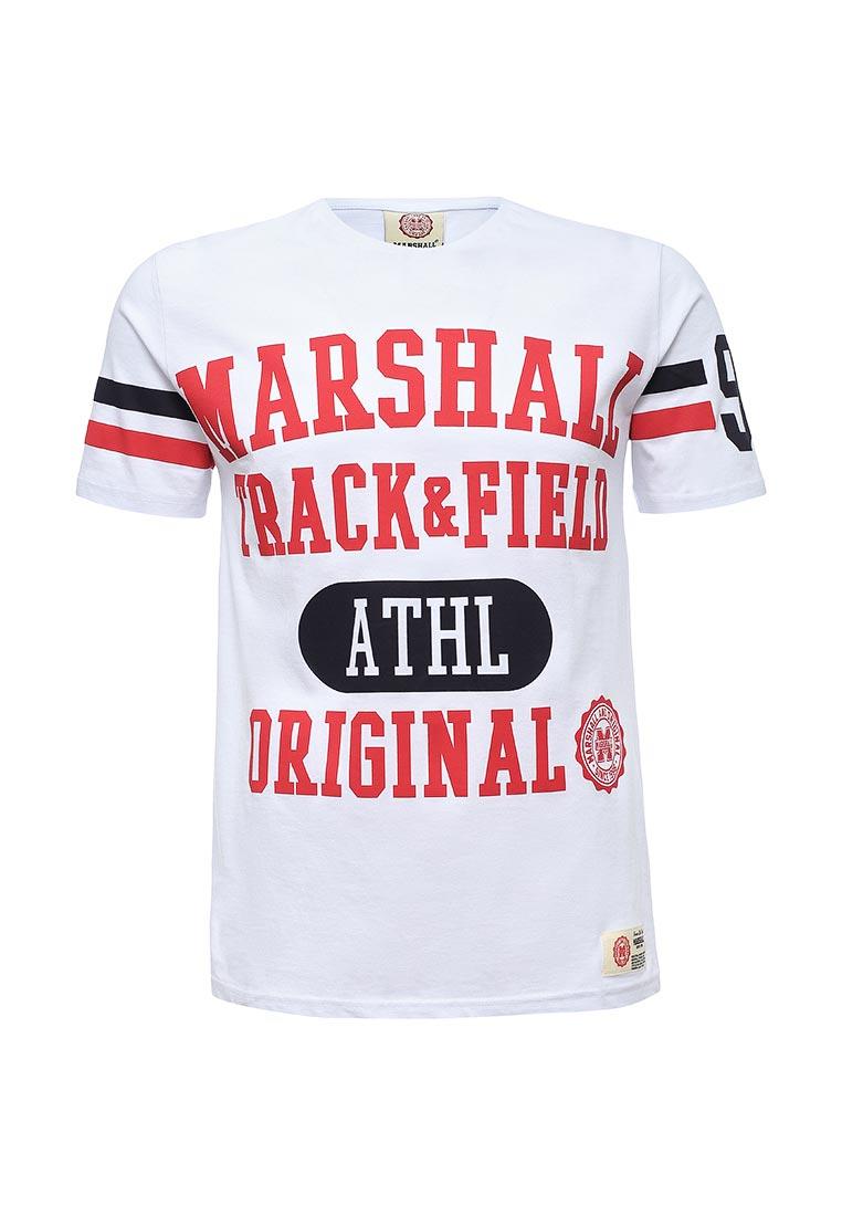Футболка с коротким рукавом Marshall Original TS_YARDS_BLANC