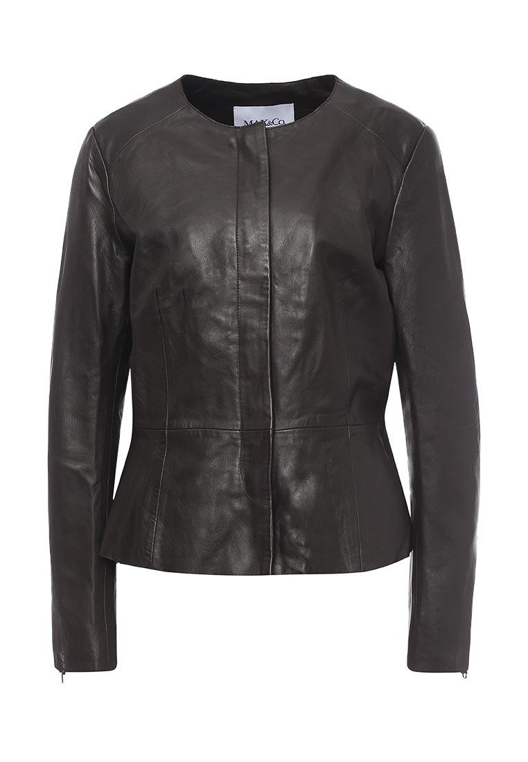 Кожаная куртка MAX&Co 64419217