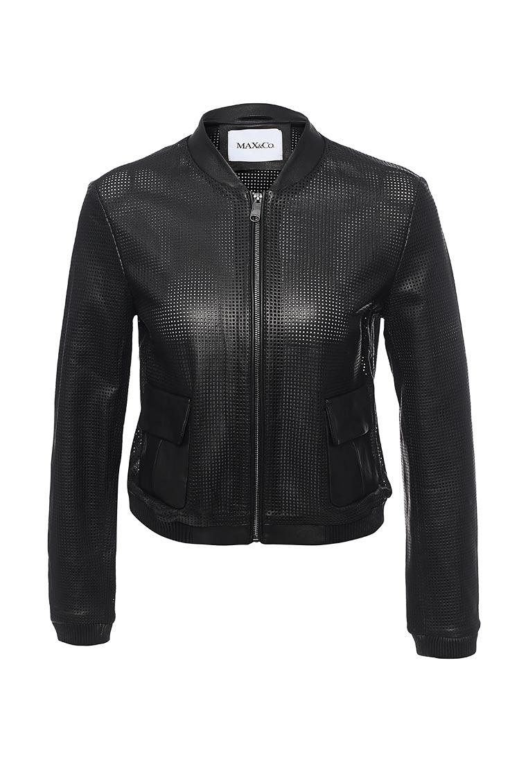 Кожаная куртка MAX&Co 64419617