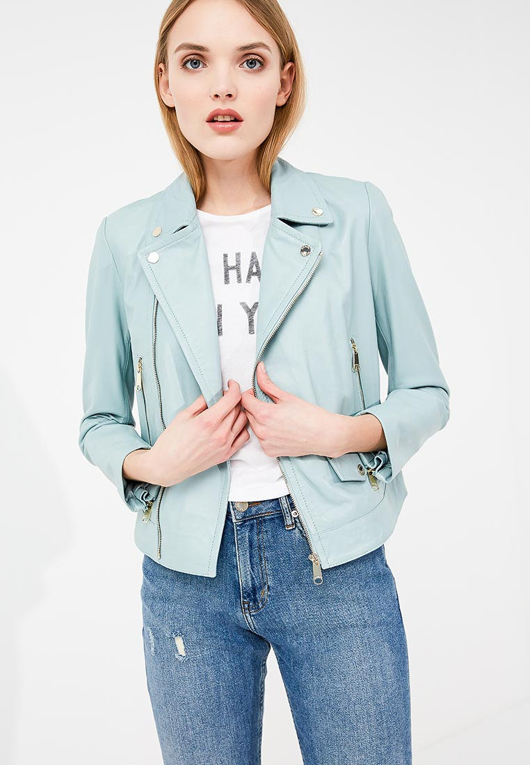 Кожаная куртка MAX&Co 64419418