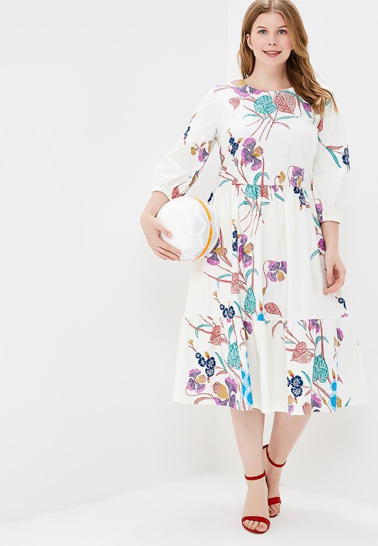 Летнее платье МаТильда MT125White_flower