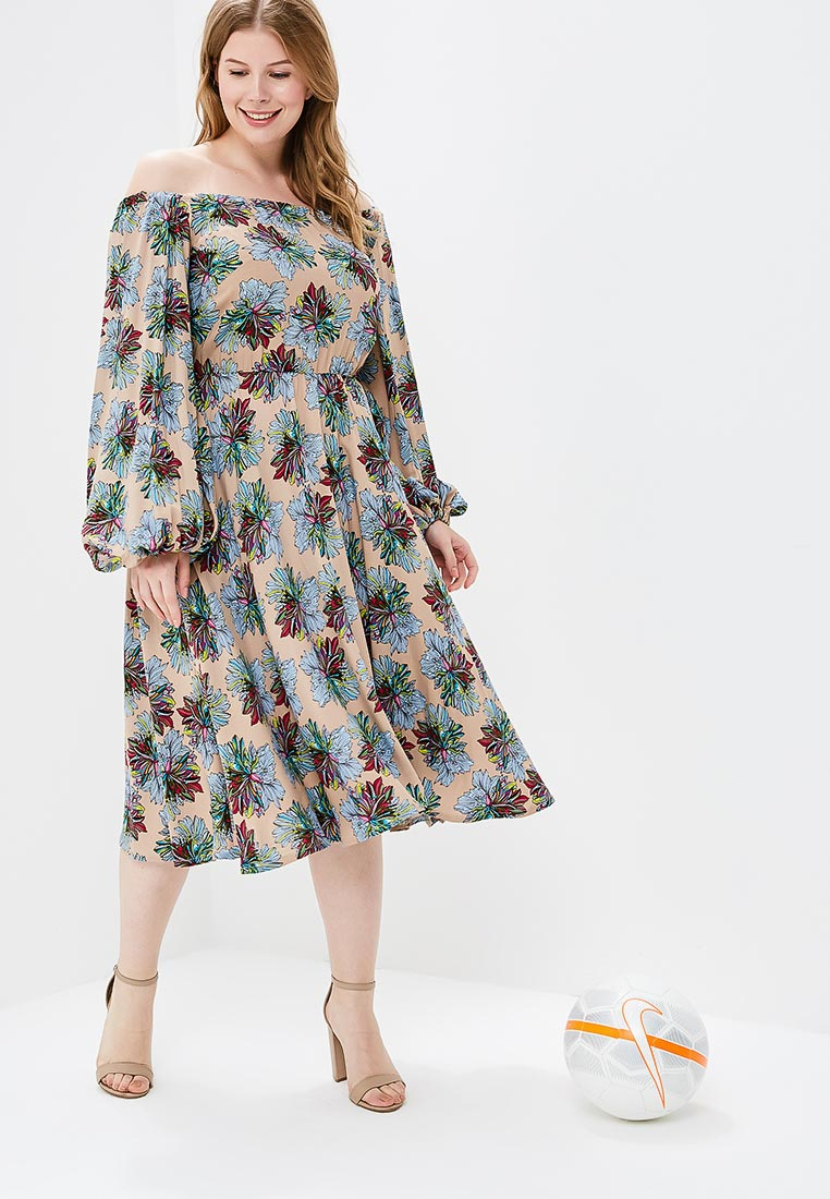 Летнее платье МаТильда MT2112Flower