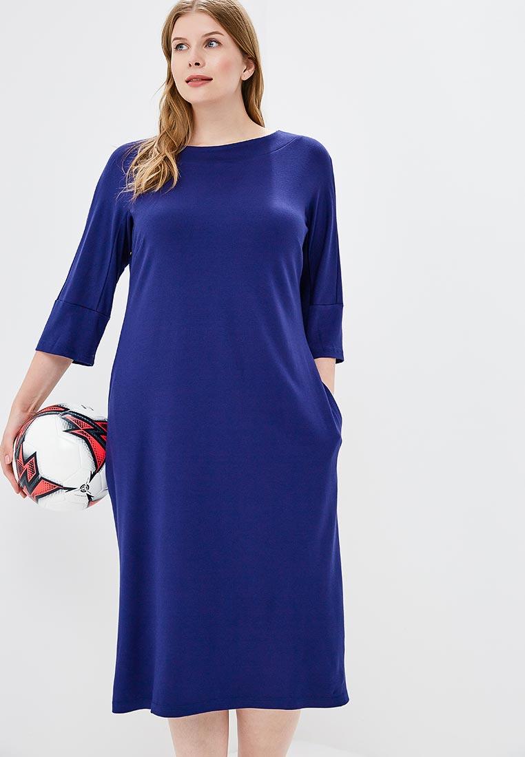 Вязаное платье МаТильда MT2856Blue