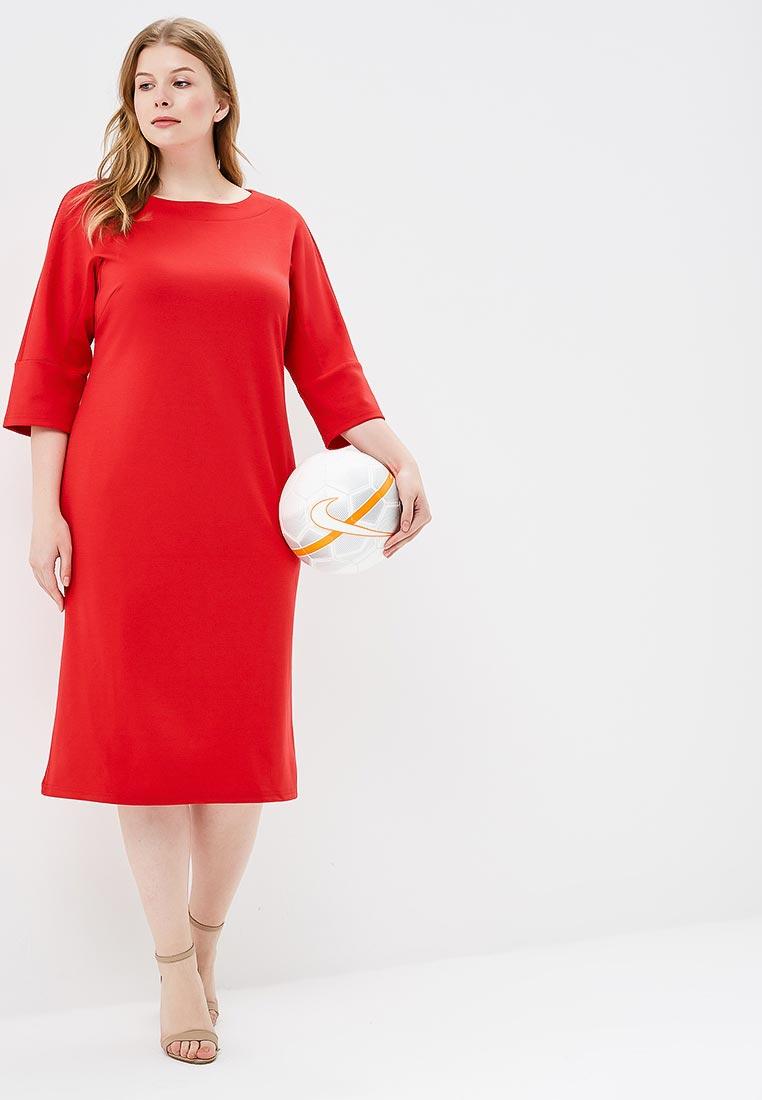 Вязаное платье МаТильда MT2856Red