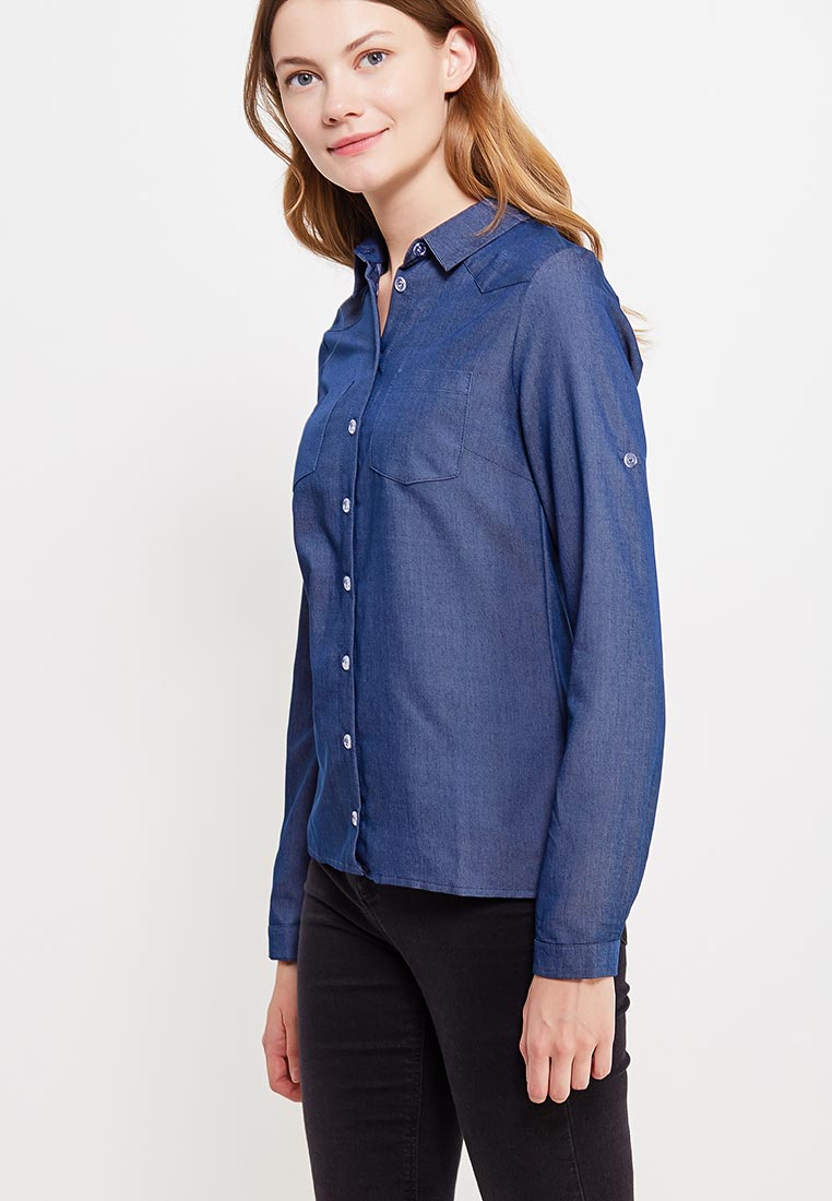 Женские джинсовые рубашки Makadamia m263