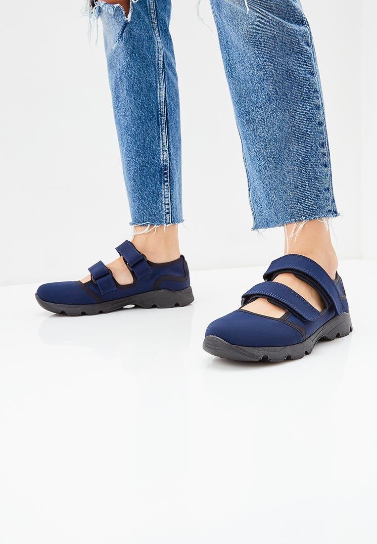Женские кроссовки MARNI SNZWS01G02TCR86: изображение 6