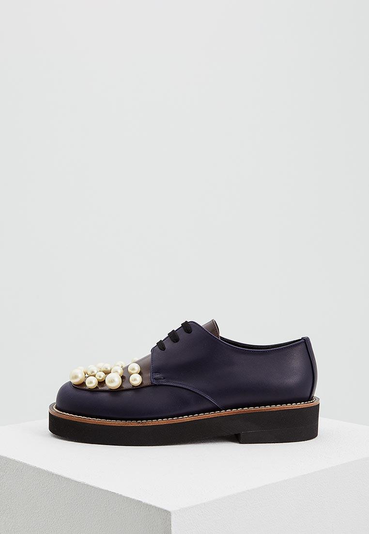 Женские ботинки MARNI ALMSY08G03LV734