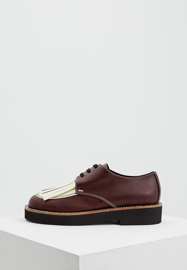 Женские ботинки MARNI ALMSY07G03LV734