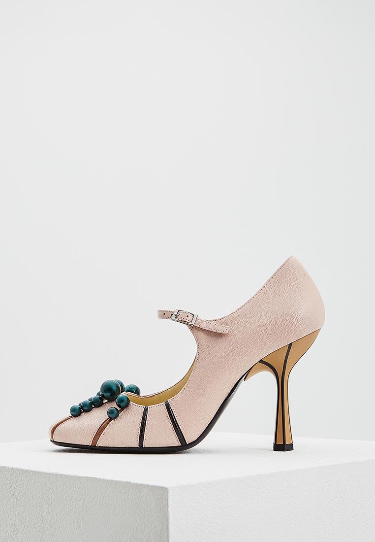 Женские туфли MARNI MJMSY15C10LG133
