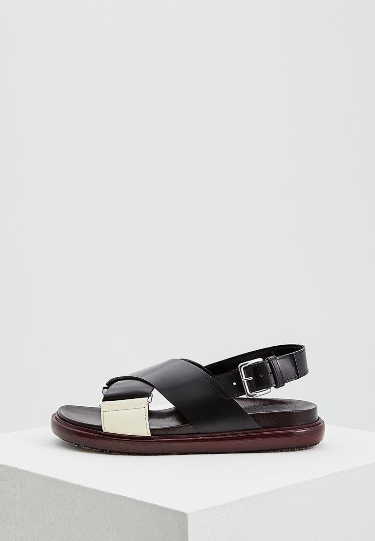 Женские сандалии MARNI FBMSY14G01LV765