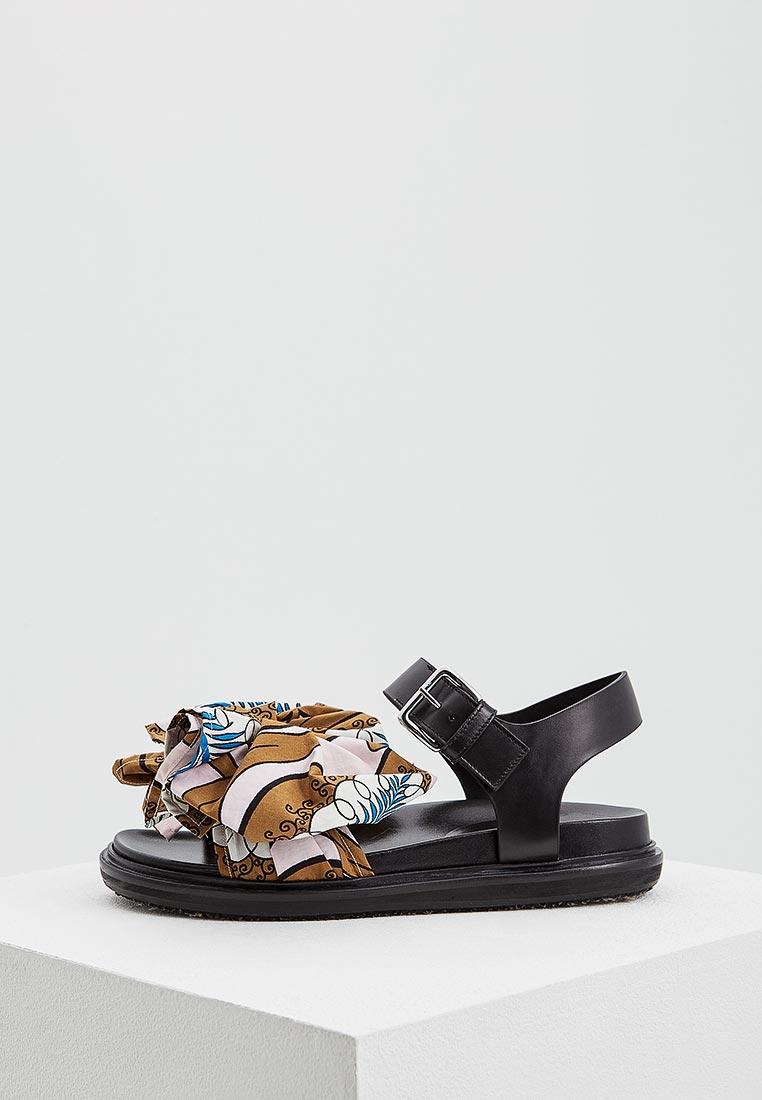 Женские сандалии MARNI FBMSY12G01TCW15
