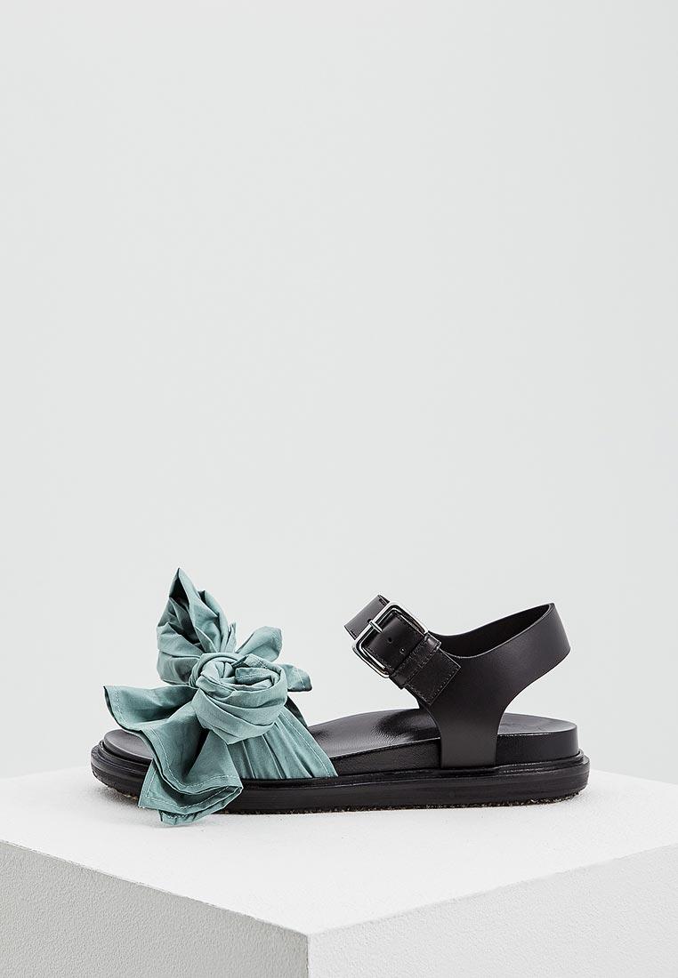 Женские сандалии MARNI FBMSY12G01TCV60
