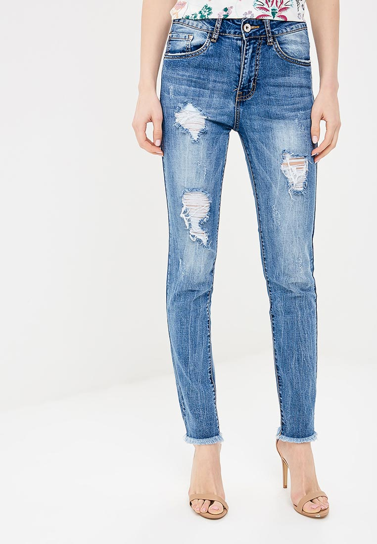 Зауженные джинсы Macleria B012-WG856
