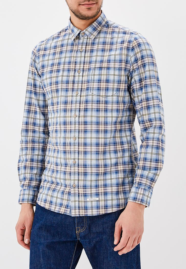Рубашка с длинным рукавом Marc O`Polo 822 7441 42098