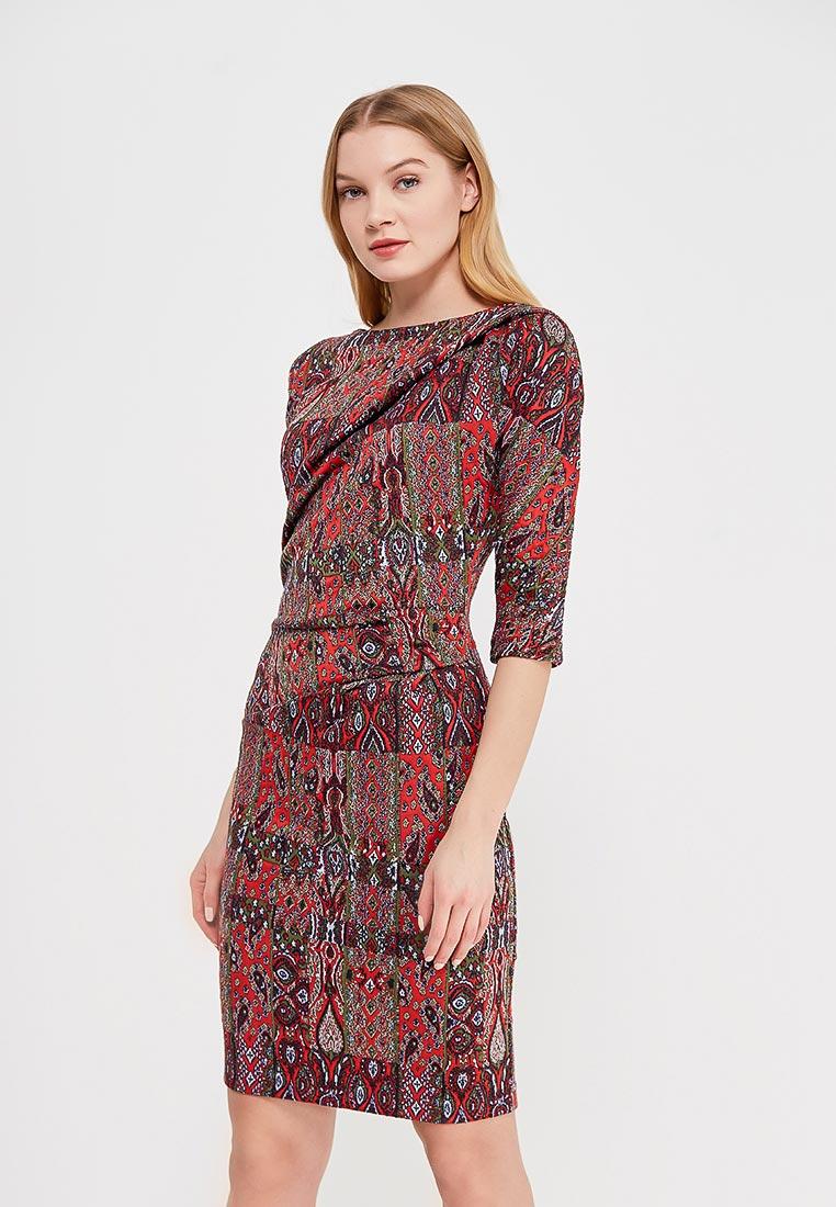 """Деловое платье MadaM T (Мадам Т) ПВ3833/0506 """"Пихта"""""""