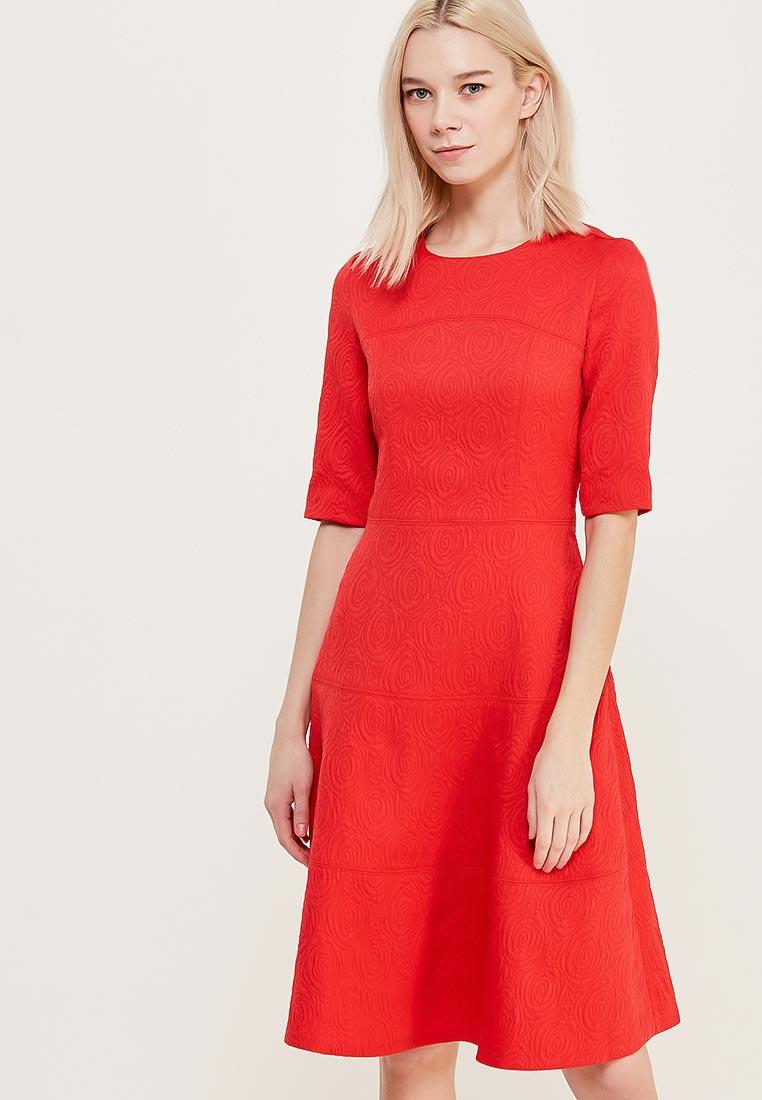 Красное Платье Миди Купить