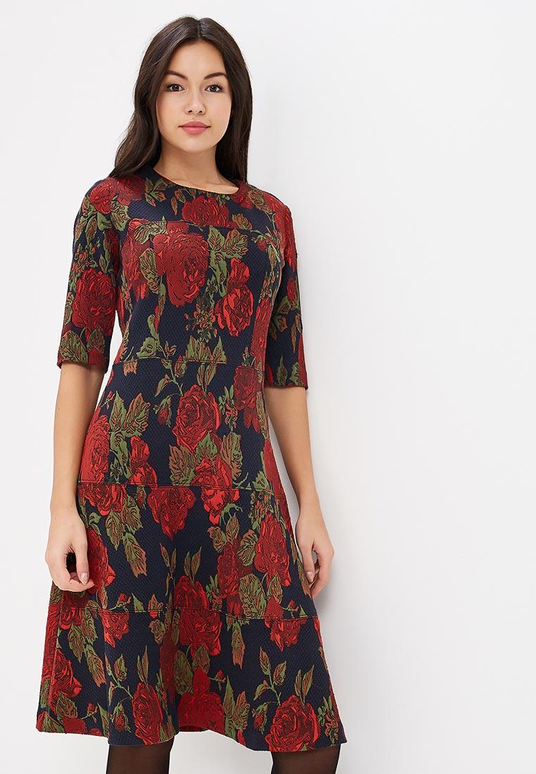 "Платье-миди MadaM T (Мадам Т) ПВ3845/0305 ""Сапалери"""
