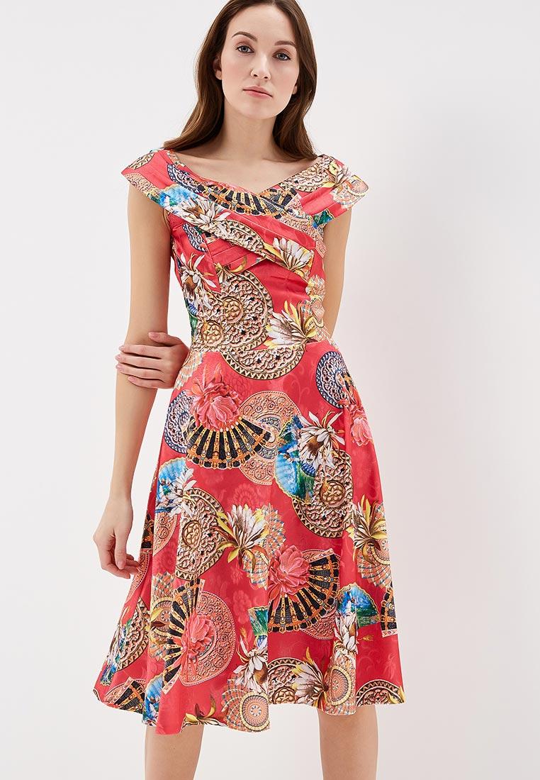 """Платье-миди MadaM T (Мадам Т) ПЛ3921/4149 """"Лагуна"""""""