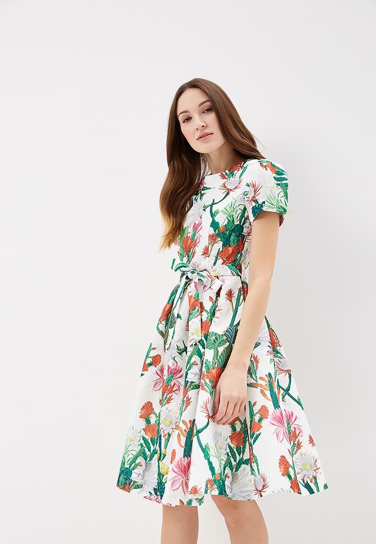 "Платье-миди MadaM T (Мадам Т) ПЛ3938/0111 ""Ретрона"""