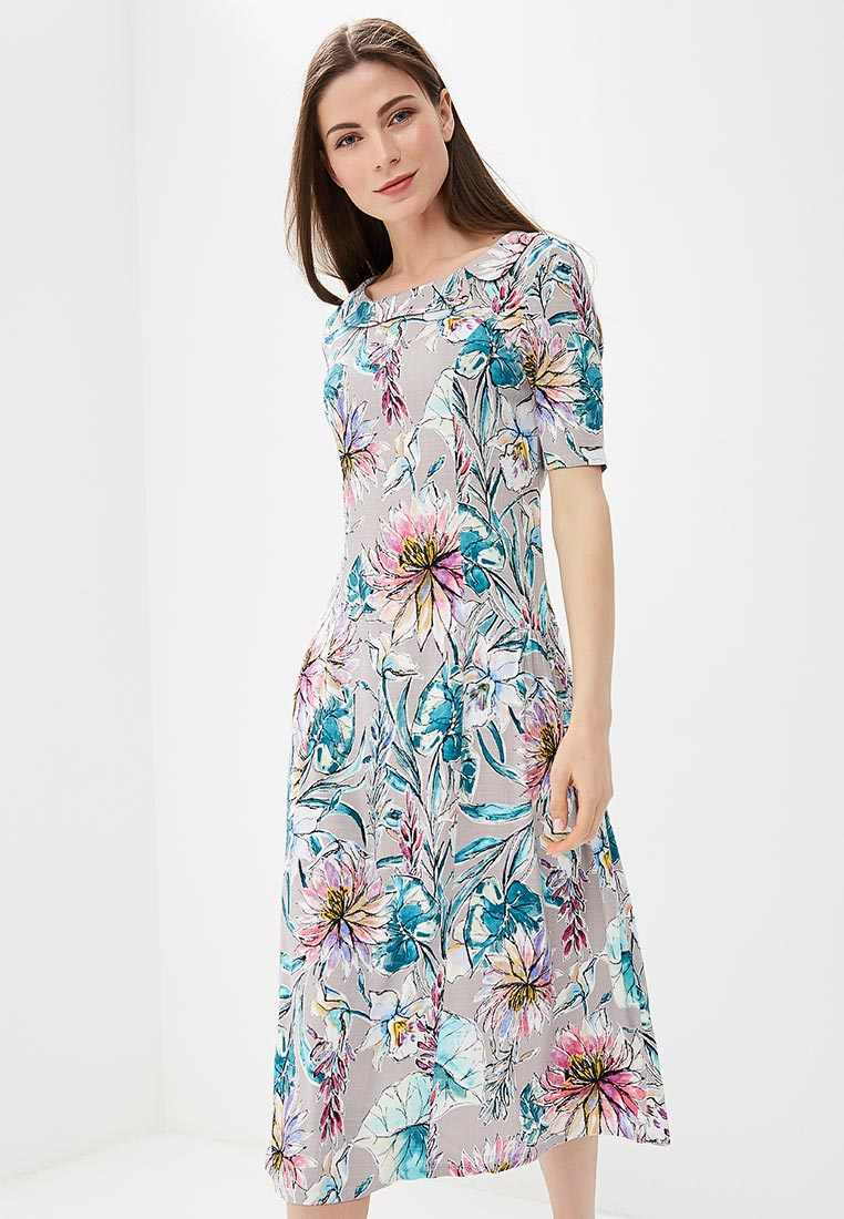 "Платье-миди MadaM T (Мадам Т) ПЛ3913/1619 ""Патриция"""