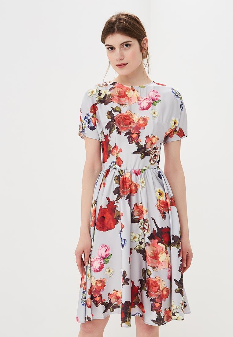 """Платье-миди MadaM T (Мадам Т) ПЛ4053/1602 """"Алхемида"""""""