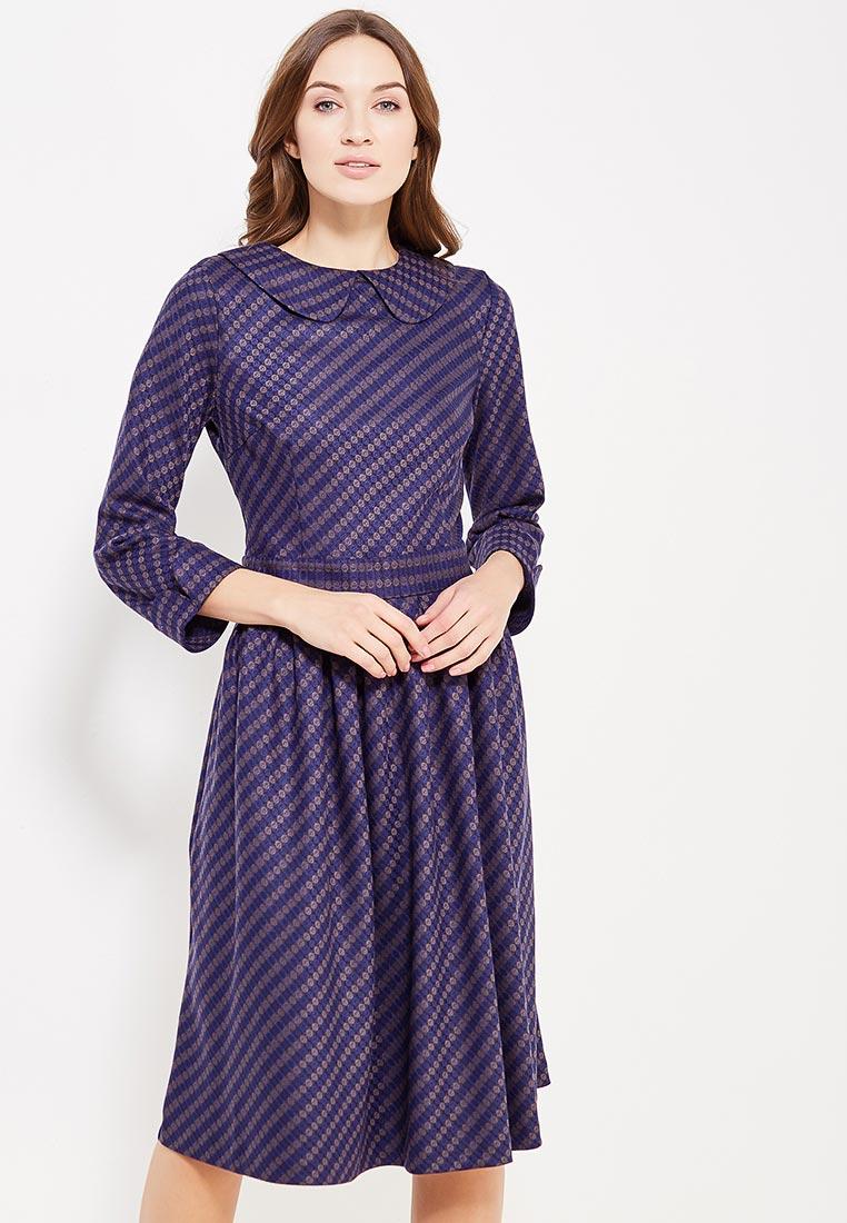 """Платье-миди MadaM T (Мадам Т) ПО3668/2616 """"Меджа"""""""