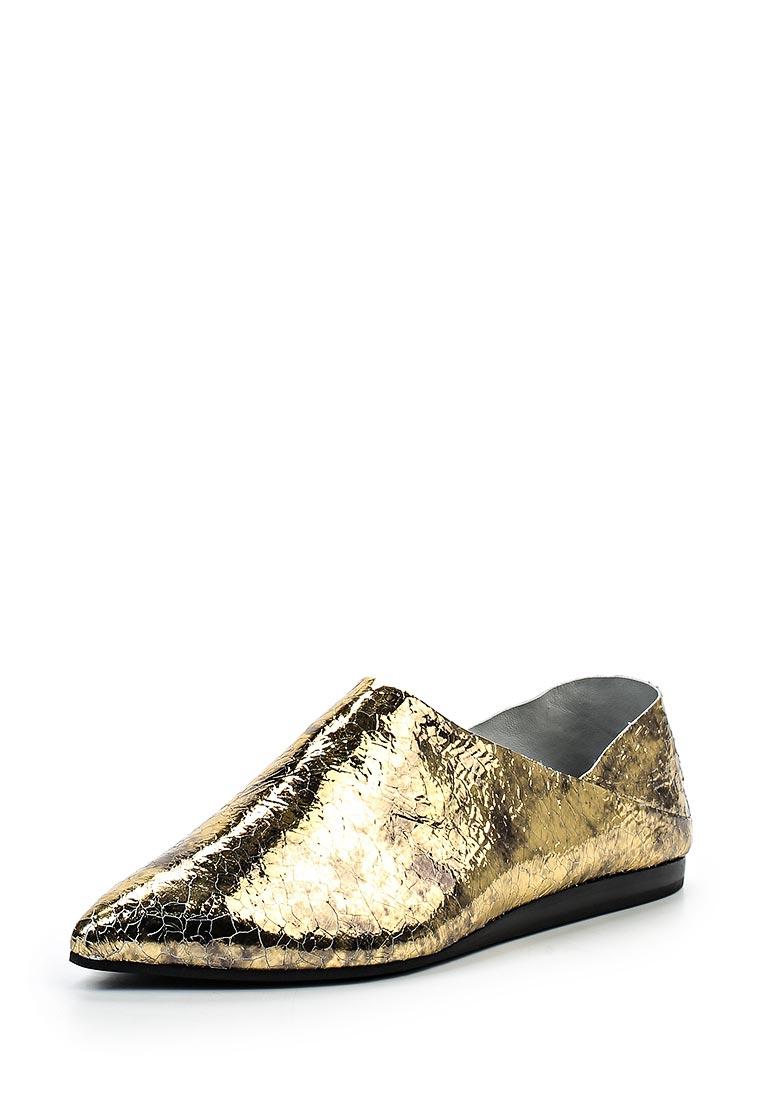 Туфли на плоской подошве McQ Alexander McQueen 447265 R2438