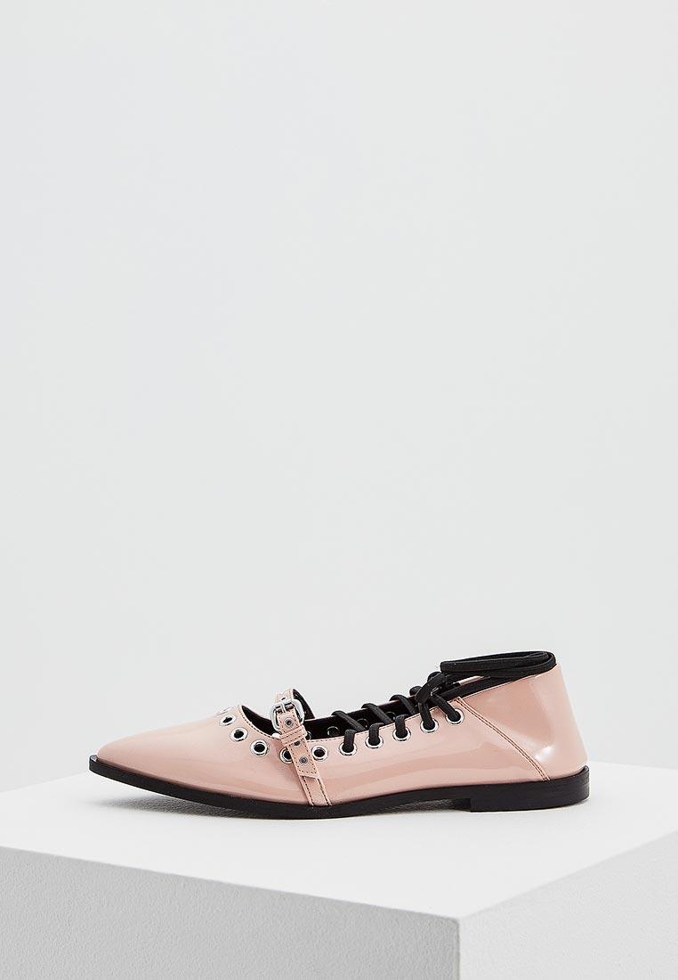 Женские туфли McQ Alexander McQueen 505743 r2419