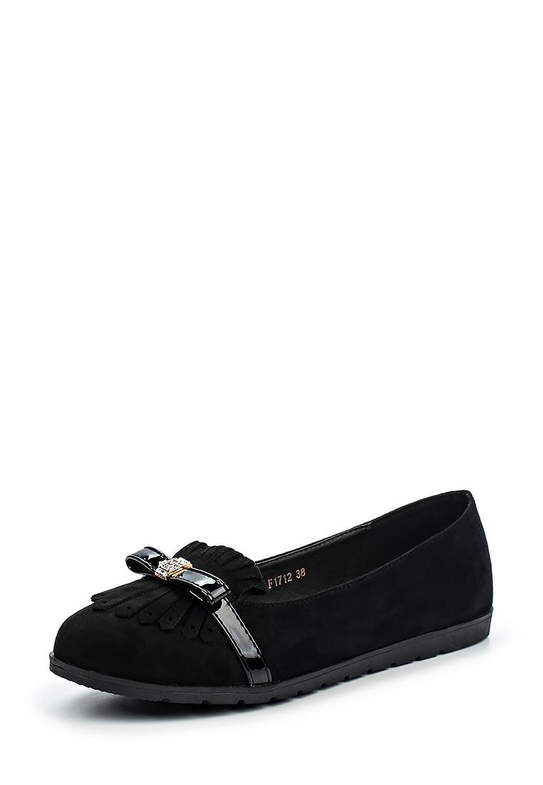 Туфли на плоской подошве Mellisa F33-F1712