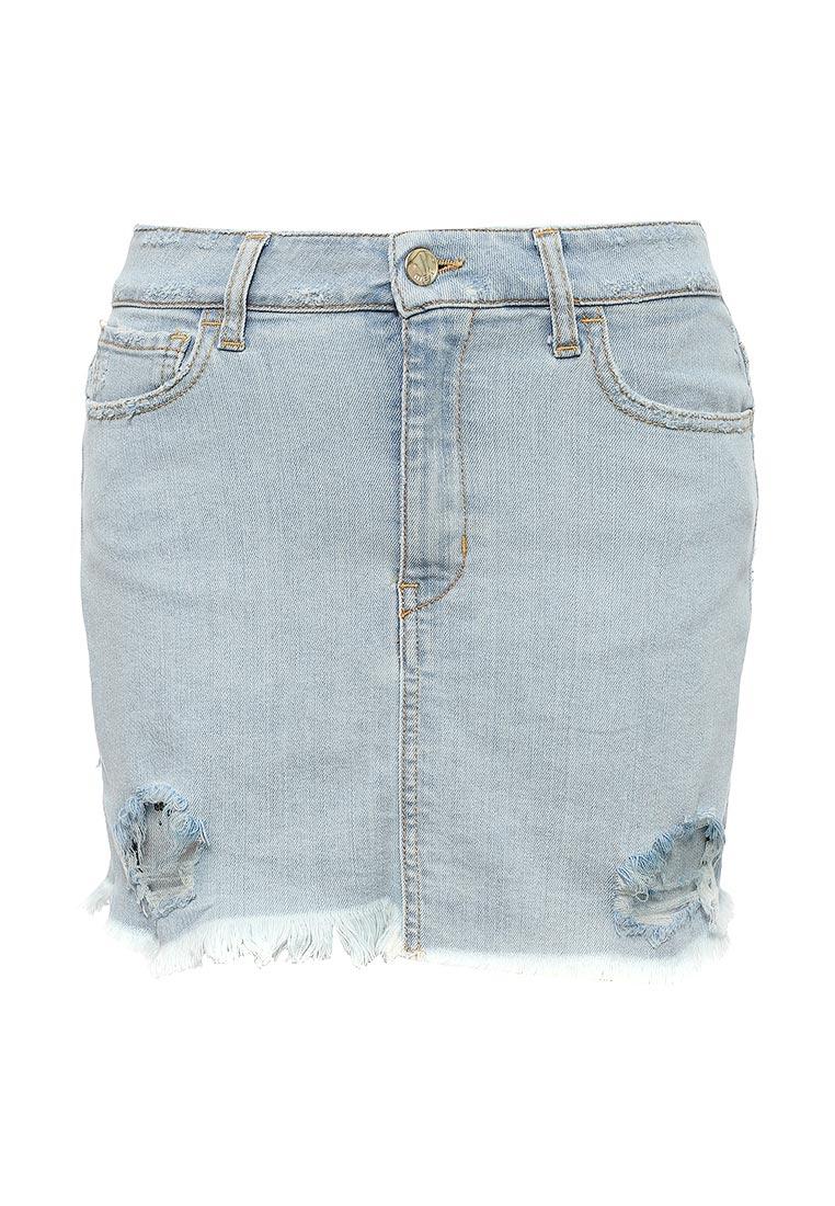 Джинсовая юбка Met 10DGC0371
