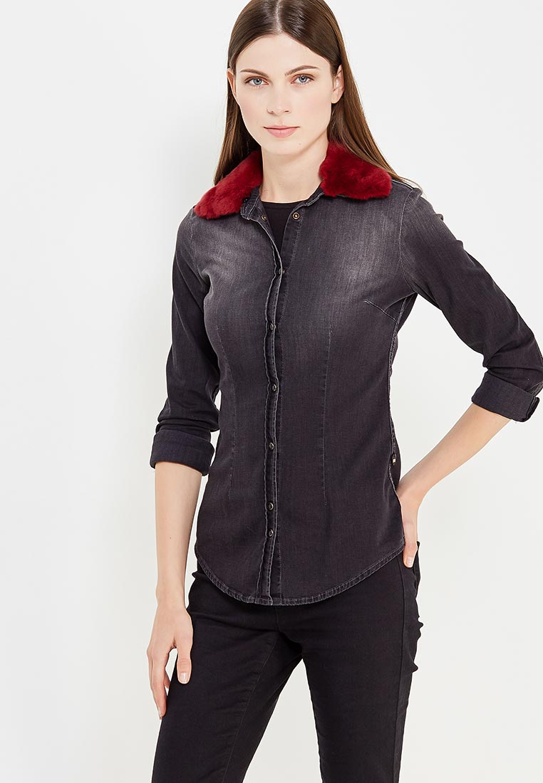 Женские джинсовые рубашки MET BASIC D1157 A1249