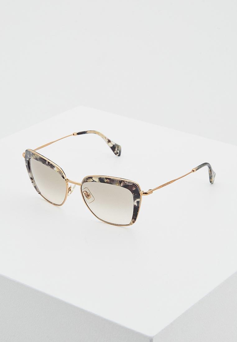 Женские солнцезащитные очки Miu Miu 0MU 52QS