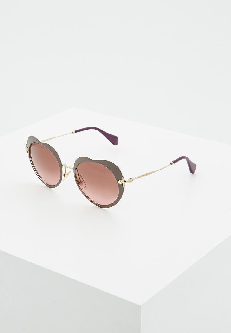 Женские солнцезащитные очки Miu Miu 0MU 54RS