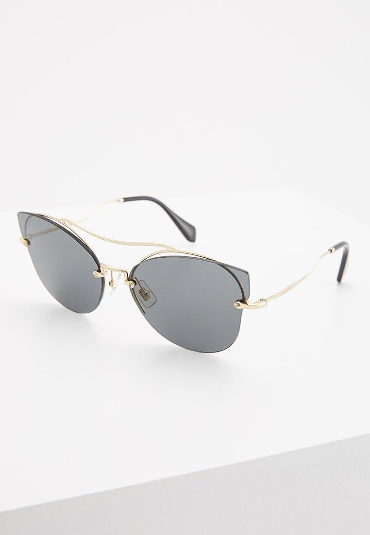 Женские солнцезащитные очки Miu Miu 0MU 52SS