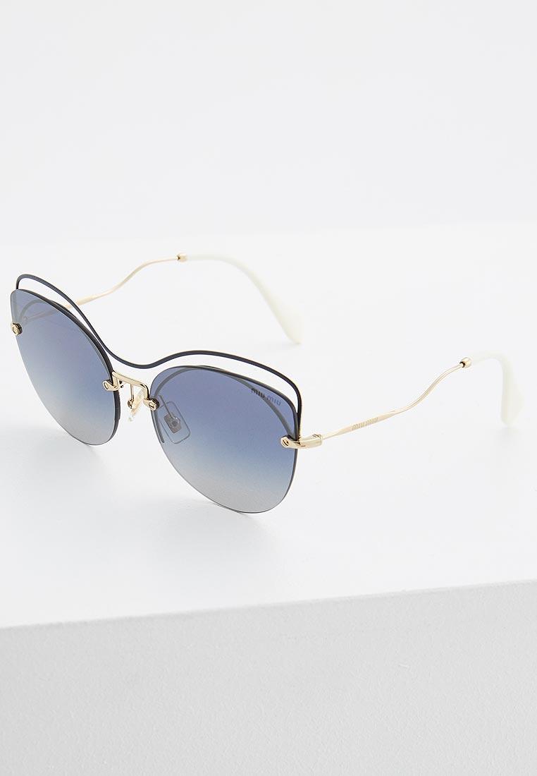 Женские солнцезащитные очки Miu Miu 0MU 50TS