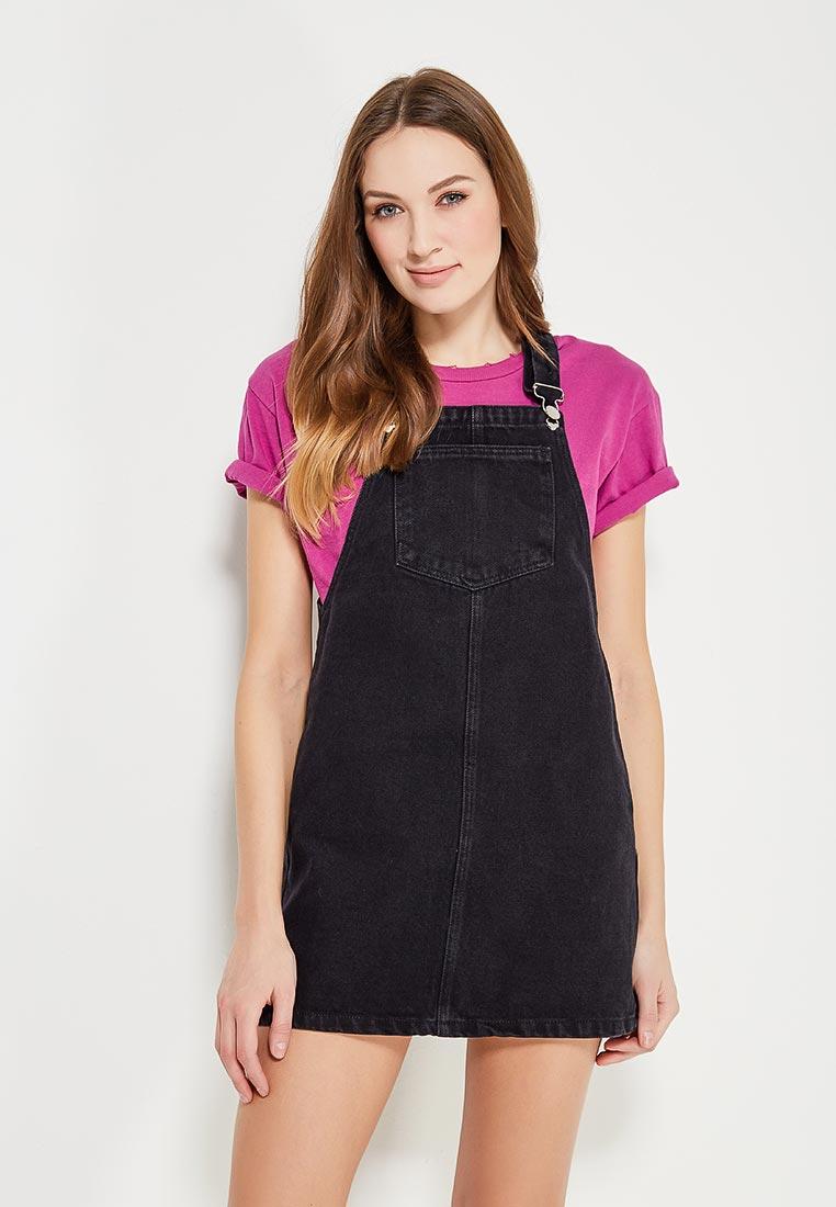 Платье-мини Miss Selfridge 18L06VBLK