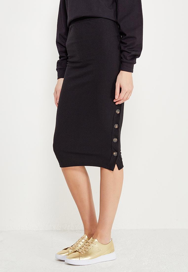 Узкая юбка Miss Selfridge 45K14WBLK