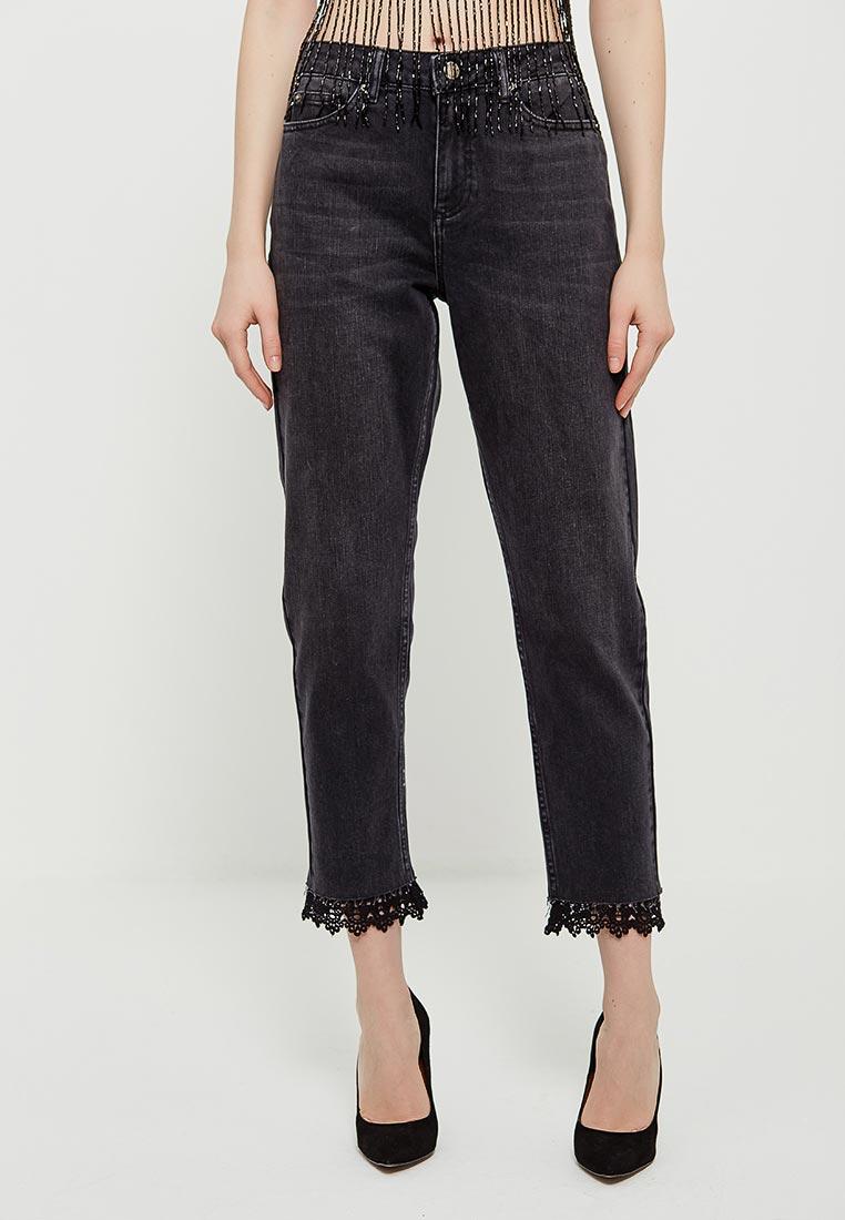 Зауженные джинсы Miss Selfridge 17J07WBLK