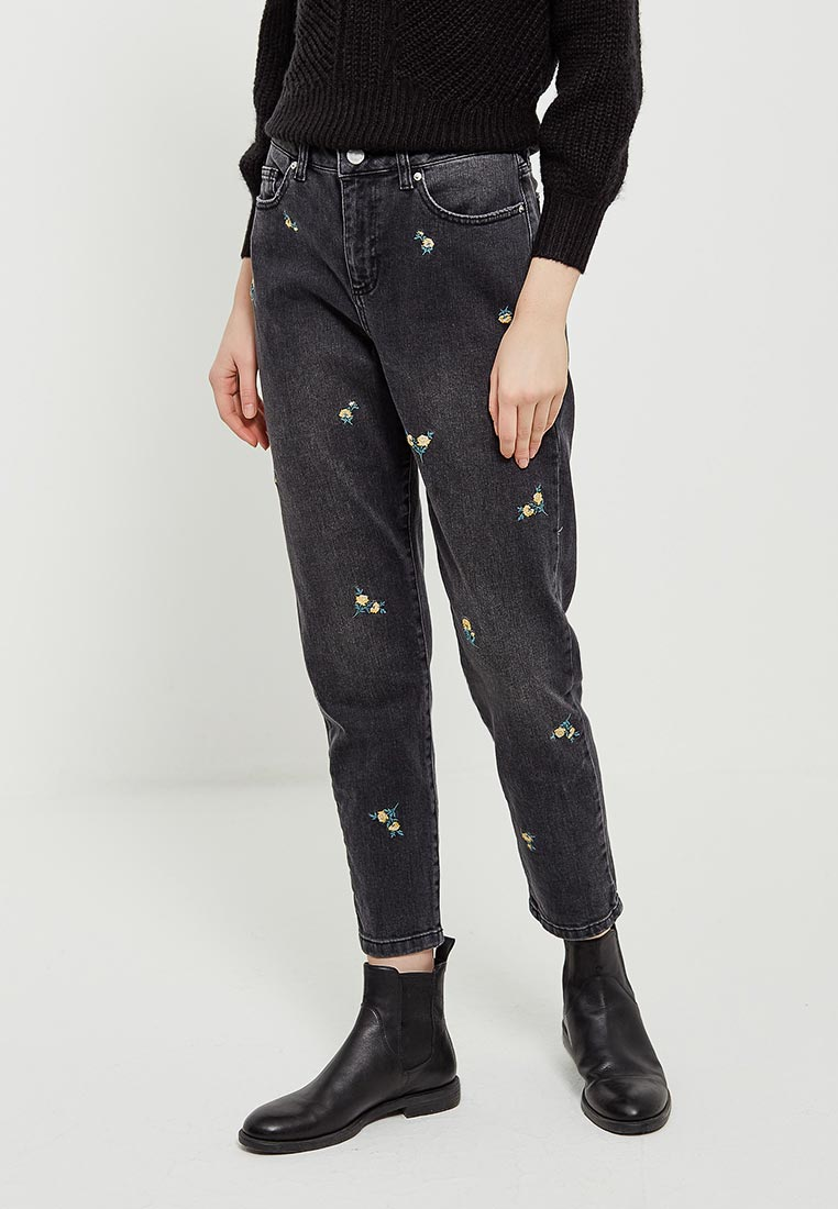 Зауженные джинсы Miss Selfridge 17J08WBLK
