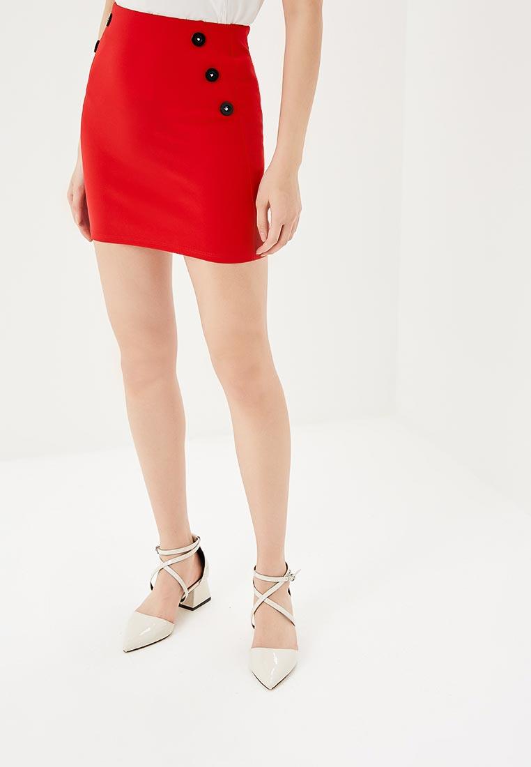 Узкая юбка Miss Selfridge 45K70WRED