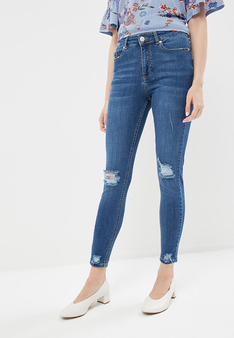 Зауженные джинсы Miss Selfridge 17J02VMDT