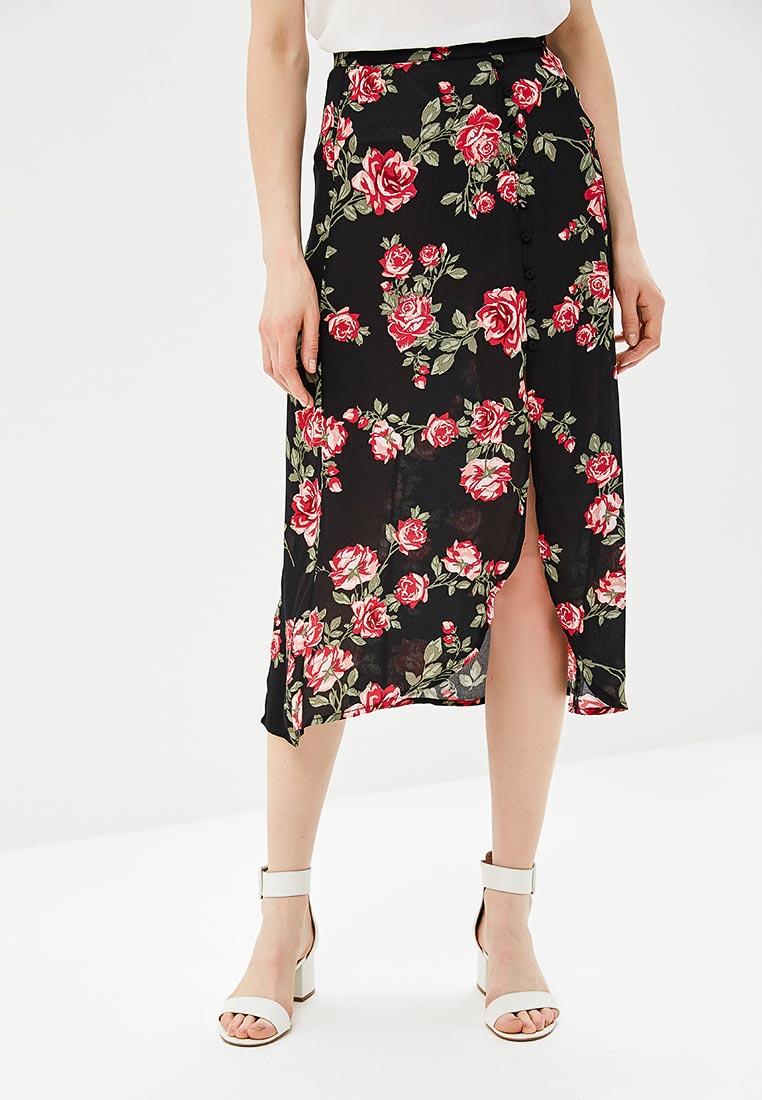 Широкая юбка Miss Selfridge 45K08WBLK