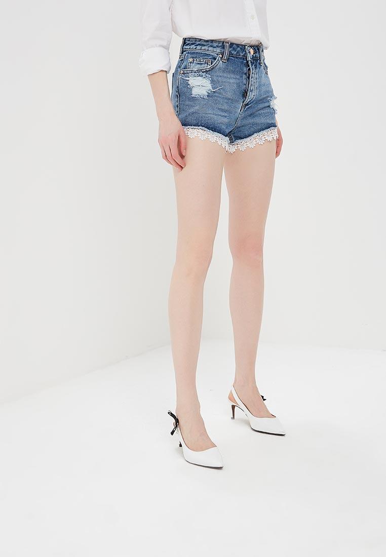 Женские джинсовые шорты Miss Selfridge 43R53WIND