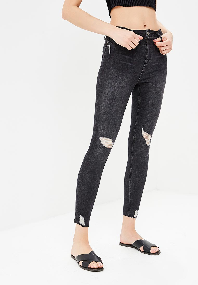 Зауженные джинсы Miss Selfridge 17J43VBLK